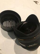 Sigma 10mm f/2.8 EX DC HSM Diagonal Fisheye Per Nikon