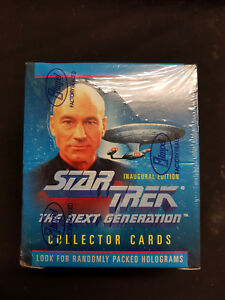 STAR TREK NEXT GENERATION INAUGURAL ED - 1 Unopened Box - TRADINGCARDS 1992