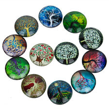 12pcs Funny Fridge Magnets Strong Abstract Tree Magnet Kids Memo Whiteboard