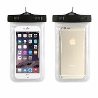 3 PACK - Clear Waterproof Universal Underwater iPhone Cell Phone BAG pouch case
