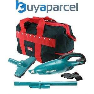 Makita DCL180Z 18v Volt LXT Lithium Ion Vacuum Cleaner Cordless + Carry Bag