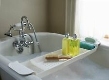 Bathtub Caddy Tray Holder Shower Shelf Organizer Expandable Bath Storage