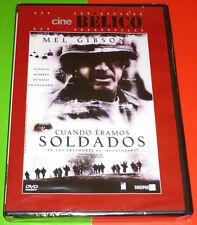 CUANDO ERAMOS SOLDADOS / WE WERE SOLDIERS English Español DVD R2 Precintada