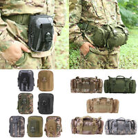 6L Molle Tactical Molle Belt Pack Camping Hiking Waist Bag Army Military Pouch