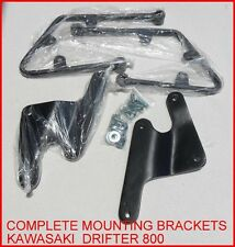 saddleline Kawasaki vulcan Drifter 800 Saddlebags mounting brackets.