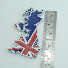 England Britain UK Chrome Metal Emblem Badge Sticker For Jaguar Land Rover Mini