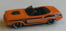 Hot Wheels 1970 Plymouth Barracuda Cabrio Convertible orange Auto HW US-Car ´70