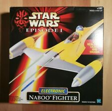 STAR WARS NABOO FIGHTER EPISODE 1 ELECTRONIC STARFIGHTER SEALED IN BOX New Ep 1