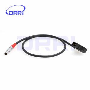 4 Pin male to D-tap LBUS FIZ Power Cable for cforce Lens Motors