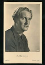 Theatre Films KARL SCHONBOCK Used 1941 Real Photo Picture Postcard