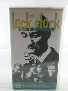 LOCK STOCK & FOUR STOLEN HOOVES -  VHS VIDEO TAPE