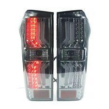 LED REAR TAIL LIGHT LAMP BLACK SMOKE LENS ISUZU DMAX D-MAX 11 12 13 14