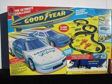 RARE VTG Goodyear Slot Car Racing Set by Life Like Racing in Box Bonus Truck