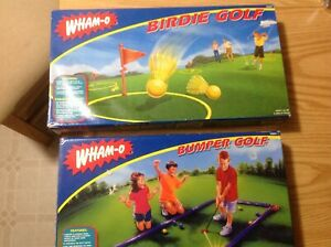 outside game.Birdie golf .WHAM-O. only 1 game is available. not both