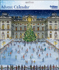 Traditional Somerset House Skating Advent Calendar Caltime 230 x 230 mm
