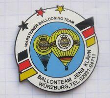 JENS KLÄHN / WARSTEINER BALLOONING TEAM  ... Bier-Ballon-Pin (125K)