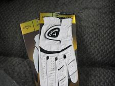 2 CALLAWAY APEX TOUR GOLF GLOVES SIZE LARGE 2 NEW MENS