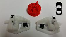 CITROEN Xsara Kit De Reparación Regulador de Ventana Frontal Izquierda 1997 - 2000 Clips & Rueda