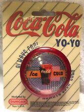 Vintage 1997 Duncan 'Ice Cold' Coca-Cola Trick Yo-Yo ~102 Advertising Nib Nos
