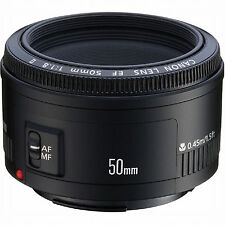 Canon Lens EF 50mm f/1.8 II For Canon Rebel T6i T6s T5i T3i 70D SL1 T5