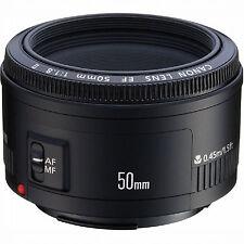 Canon Lens EF 50mm f/1.8 II For Canon Rebel T6i T6s T5i T3i 70D SL1 T5