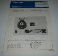 Einbauanleitung Volvo 360 / 340 / 343 Kabelbaum für Anhängerkupplung AHK 03/1986