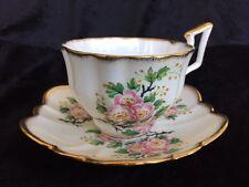 Vintage Salisbury England bone china cup & saucer mark on bottom mint condition