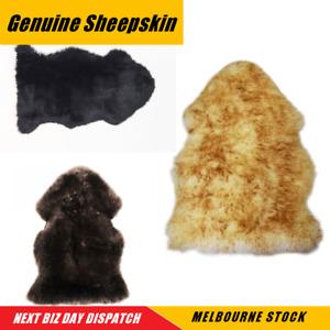Coloured Sheepskin Rug Lambskin Fluffy Home Idea