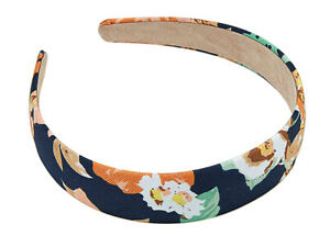 Women's Girl's Hair Decoration Choker Hairband Fabric Floral Pattern Flower Wide