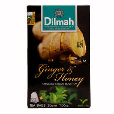 Dilmah Pure Ceylon Flavoured Black Tea Mint,Strawberry,Ginger organic 20Bags 30g