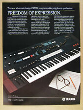 1982 Yamaha CS-70M CS70M Synthesizer Synth vintage print Ad