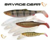Savage Gear 4D Herring Shad 16/19/25cm Sizes Lure Fishing Soft Bait Shad Bulk UL