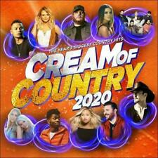 CREAM OF COUNTRY 2020 CD/DVD NEW Luke Combs Kane Brown Maren Morris PAL R0