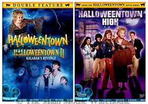 Disney Channel Halloween Movie Series Halloweentown I II III DVD Trilogy 1 2 & 3
