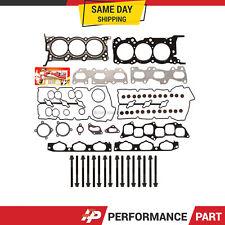 Head Gasket Bolts Set for 04/21/07-09 Kia Sedona Sorento Hyundai 3.8 DOHC G6DA