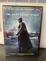Batman -THE DARK KNIGHT RISES - DVD - USED - GREAT CONDITION