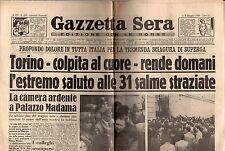 [DID] GAZZETTA SERA 6/05/1949 TORINO SUPERGA