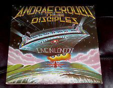 ANDRAE CROUCH AND DISCIPLES LIVE in LONDON Light 2-LPs MINT Power in the Blood