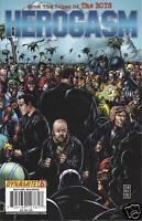 Herogasm Comic 6 Cover A First Print 2009 Garth Ennis Bowland Burns Dynamite