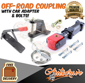 Off-Road Poly Block Override Coupling Hitch Car Adapter Mechanical Kit BOLTS
