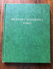 CLASSIC GREEN WHITMAN MERCURY / ROOSEVELT DIMES ALBUM #9210 -  NO COINS