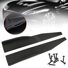Universal Car Side Skirt Rocker Splitters Winglet Wings Canard Diffuser Spoiler