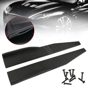 Universal Car Side Skirt Rocker Splitters Winglet Canard Diffuser Spoiler