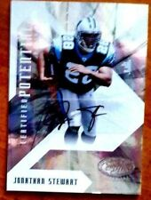 Jonathan Stewart RC 2008 Leaf Certified Rookie Autograph RC#/50-Panthers RC Auto
