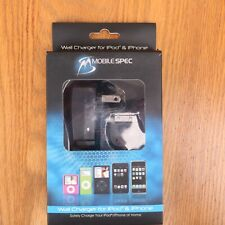 Mobilespec Wall Charger For iPod & iPhone MSC-2B