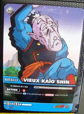 A696 Carte de Collection de jeux DRAGON BALL VF  VIEUX KAÏO SHIN  DB 339