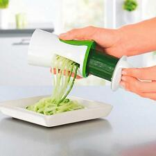 Salad Maker Vegetable Cutter Fruit Slicer Spiral Chopper Kitchen Dicer New LA