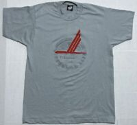 Vintage USA Screen Stars Best Piedmont Airlines Graphic T Shirt Large / Medium