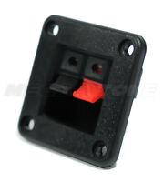 NEW 2 Position Push/Release Spring Loaded Audio Jack Speaker Terminal USA SELLER