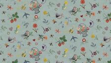 Makower Haberdashery 1704 1 Embroidery BTY Cotton Fab